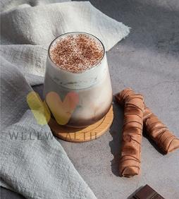 Chocolate Milk Foam